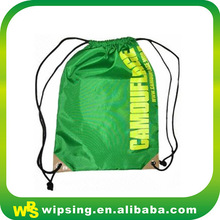 Fashion waterproof nylon drawstring pack bag for travel