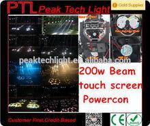 PeakTech cabeza movil 200w sharpy moving head beam 5r/beam 200 moving head