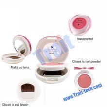 Women Make Up Kit Mascara+Eyeliner+ Lip Gloss+Blusher+Eye Shadow Palette+Pressed Powder