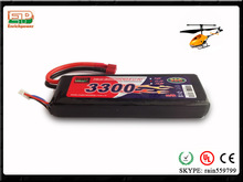 rc quadrocopter lipo battery 3s 3300mAh 11.1V 30C for rc model with dean plug, RC nano-tech battery pack