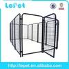 2014 new heavy duty durable iron fence pet product heavy-duty modular outside dog kennels