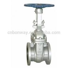 API 6D gate valve (Rising stem gate valve,stainless steel gate valve)
