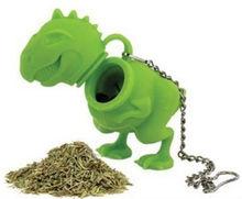 T-Rex Tea Infuser Dinosaur Tyrannosaurus Leaves Gift Fresh Brew Herbs Herbs Fun