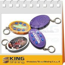 customized led keychain electronic pet