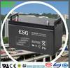 high capacity 12V120AH solar storage battery for solar power system
