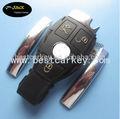 Topbest ultimo nuovo stile per mercedes. Benz chiave vuoto auto benz portachiavi 3 pulsante stile europeo