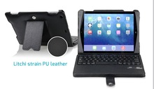 leather bluetooth keyboard for ipad air , Cool design wireless bluetooth keyboard for ipad 5,keybaord case for office worker