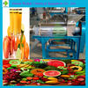 Vegetable and Fruit Juice Extraction Machine 1500KG/H Orange Spiral Stainless Steel Juicer
