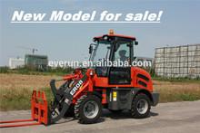 EVERUN brand CE EPA 4 approved 0.8 ton IMPORT hydrotastic articulated mini shovel loader WHEEL LOADER FARM MACHINERY