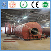 the newest generation automatic continuous used tire /plastic pyrolysis plant for sale with certification of CE&ISO&SGS
