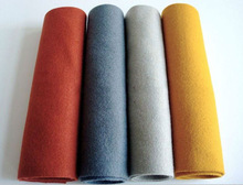 2014High quality needle punched nonwoven polyester felt wholesale