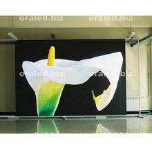Energy saving full color HD LED video display screen white plastic lighted sofa