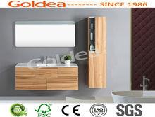 Zhejiang leading manufacturer bathroom wall hung vanities unit soft close