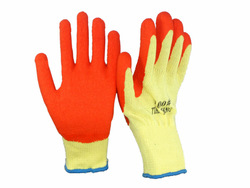 hot china products wholesale rubber latex coated gloves