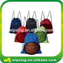 School drawstring laundry bag for gym low min order