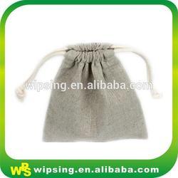 High quality drawstring cotton linen bag