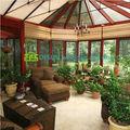 بيع الحديثة الساخنة الخشب الحبوب الالومنيوم منزل التصميمتستخدم الدفيئات الزراعية التجارية