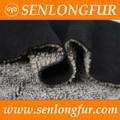 2014 de fashional de piel de material de abrigo de piel de oveja clips