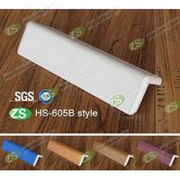 wall mounted interior pvc or metal protective angle corner protector