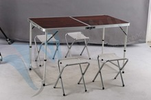 Camping Furniture -Aluminium Camping Table & Chair Set