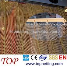 decorative metal mesh drapery/facade mesh/metal curtains