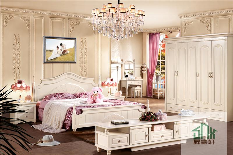 Witte huis bed antieke meubels bed set ha 825 volwassen slaapkamer set meubilair slaapkamer for Wallpaper volwassen slaapkamer