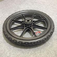 """12"""" Plastic pu foam kid's bike wheel,wheel barrow wheel"""