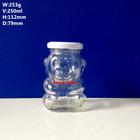 250ml Animal Shaped Glass Bottles For Honey Jam And So On