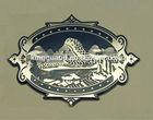 China Custom Metal Nameplate,Metal Logo