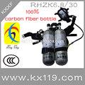 Doble botella 6.8l lucha contra el fuego un aparato de respiración de aire un aparato de respiración precio