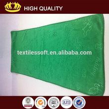 80%polyester with 20% polyamide Bone Dry Dog Washing high quality microfiber towel