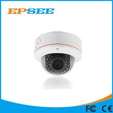 3 Megapixel 1536p Vandal-Proof ir poe ip external dome camera with 2.8-12mm varifocus lens