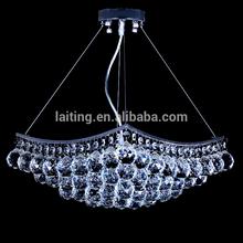 LED modern home lighting, crystal light fixture