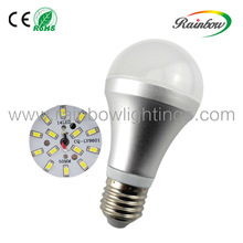 Spiral led bulb 7W 650lm E27/E14 base