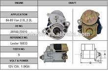 Electric diesel engine starter Toyota 84-89 Van 2.0L,2.2L 028000-9380 starter