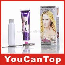 subaru hair color cream/hair color lotion,