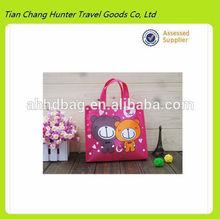 wholesale costom popular non-woven shopping bag,leisure shopping bag