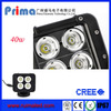 High efficient mini offroad 10w led work light bar fit for chinese utv parts