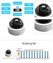 Good IR Night Vision P2P Easy to Install IP Camera