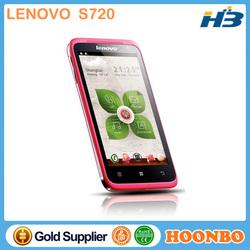 Wholesale Original Lenovo S720 Octa Core Mobile Phone MTK6577 Dual Core Dual SIM Camera GSM/WCDMA