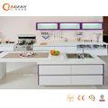 La fábrica de foshan suministro modernos gabinetes de cocina, pvc gabinete de la cocina