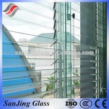 Tempered glass internal blinds glass