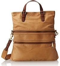 2015 Fashion Fossil Big Brown Handbag Wholesale Factories in China Shoulder Bag LF0353