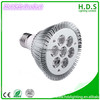 HDS-S6030 D94XH85MM 4000k 7w ce rohs e27 led light with 3 year warranty par30 cheap led light bars in china