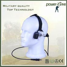 Digital radio 2way radio bone head phone for military PTE-570
