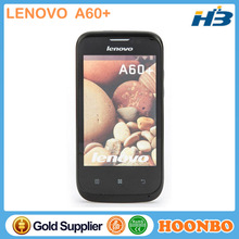 Touch Screen Mobile Phone Lenovo A60+ Phone Original Unlocked Cellphones MT6575 WIFI GPS WCDMA GSM Network