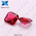 Alibaba express red topaz rough rough ruby galss gemstone