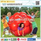 2014 plastic promotional pvc inflatable human bubble ball