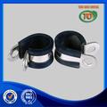 316 de acero inoxidable tubo de goma pinza clip con p- clip de tubo para tubos