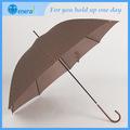 Alta resistência Pongee personalizado umbrella titular